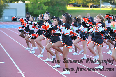 Cheerleaders at Football Game vs. Suffern