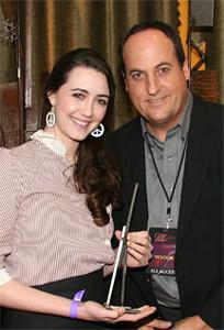 Madaline Zima with Jeff Owen