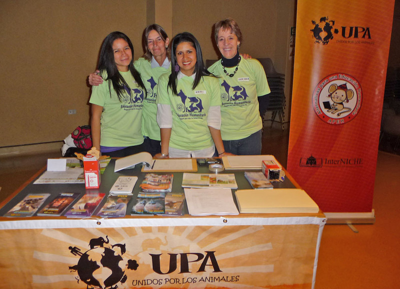 The next evening UPA organised their Conference for Animal Protectionists.