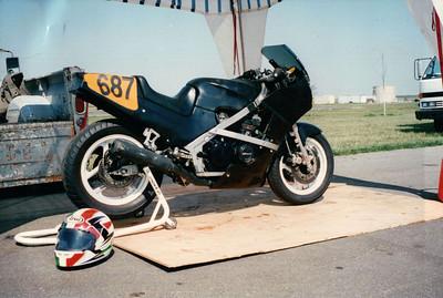 1985 Kawaski Ninja Race