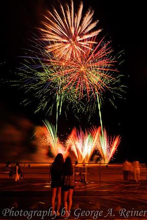 Visions Asbury Park Fireworks