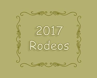 2017 Rodeos