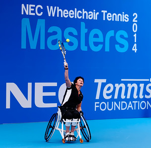 NEC wheelchair tennis masters 2014