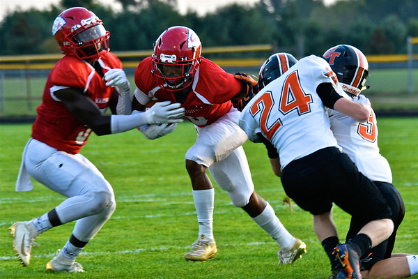 MS Chippewa Hills vs Grant Homecoming Football