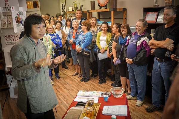 Art of Zen Tea Tasting, NPR 2 18 2016