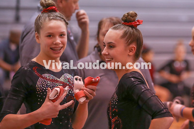 Gymnastics: Heritage @ Dulles Districts 1.30.2018 (By Jeff Scudder)
