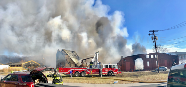 Multiple Alarm Factory Fire - Midland Ave, Middletown, NY - 11/19/20