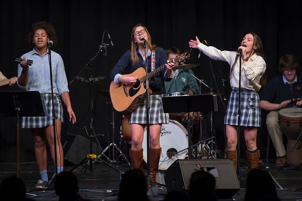 Praise Band at CCS