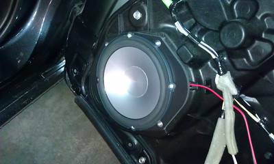 2008.5 MAZDASPEED3 Grand Touring 5 door hatchback Front Speaker Installation