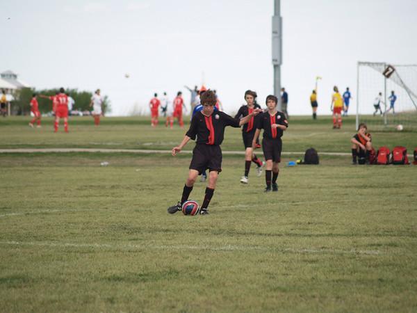 Lonestar Soccer vs Classics Elite 4.12.2008