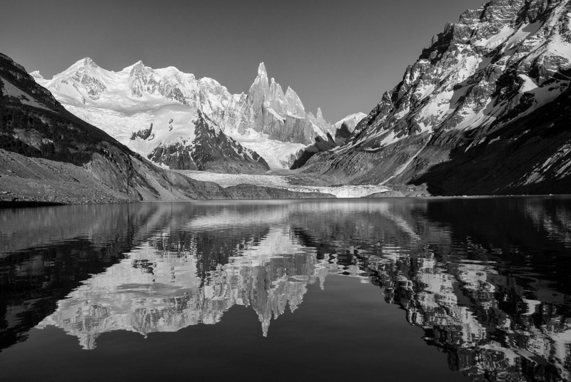 Cerrotorre-reflection-Lake-wide-BW.jpg