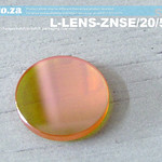SKU: L-LENS-ZNSE/20/508, Φ20mm ZnSe (Zinc Selenide) Lens FL 50.8mm with Two Sides Anti-Reflection ( AR/AR ) Coating for CO2 Laser Beam