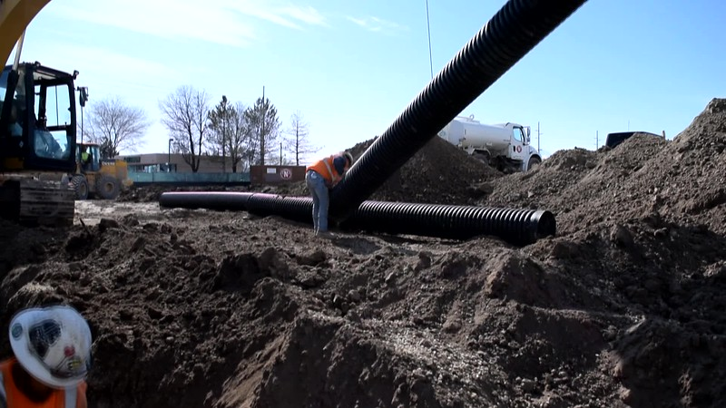 Prinsco Storm Water Drainage Installation.mp4