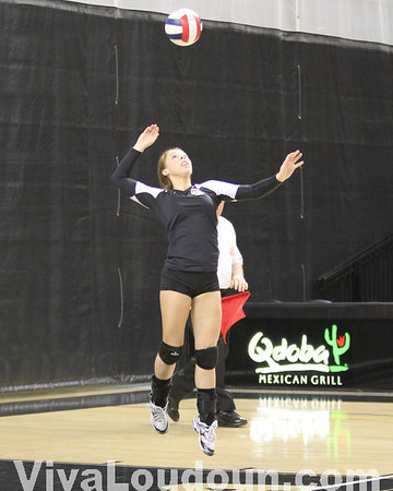 Girls Volleyball: VHSL Division 2 State Title Game - James River Celebration