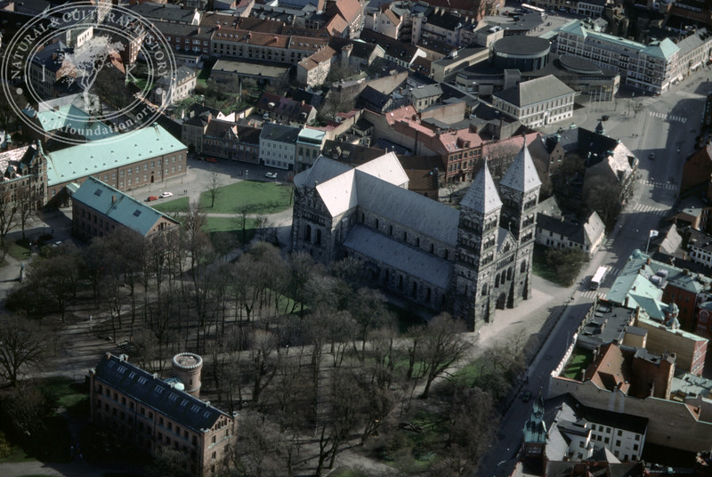 Lund, City center, Cathedral (4 May, 1989). | LH.0623