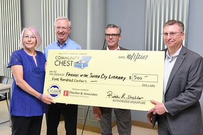 10-06-17 Community Chest Award Ceremony