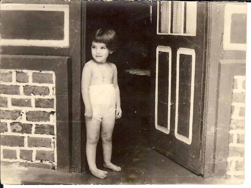 "Zélinha "" Adalberto"" , Andrada, 1956/7 - casa sem varanda"
