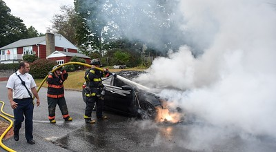 Auto Fire - St Paul St, Fitchburg, Ma - 9/30/19