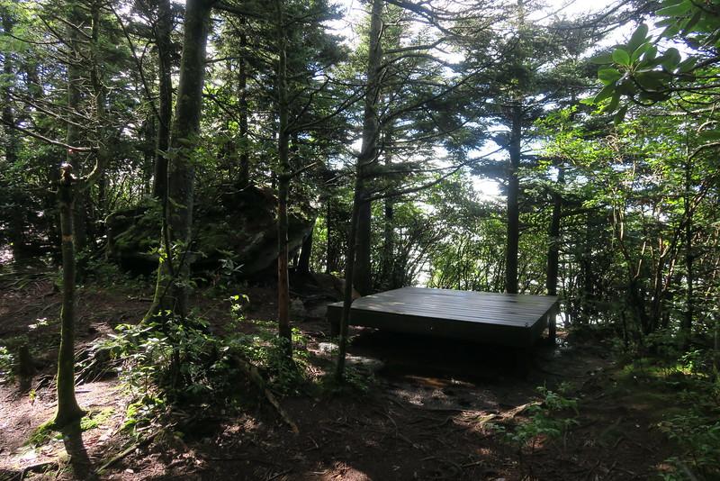 Attic Window Campsite -- 5,843'