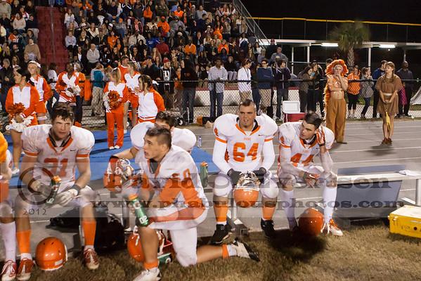 Boone Varsity Football #64 - 2012