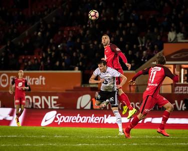 Brann vs Rosenborg, 29. March 2017