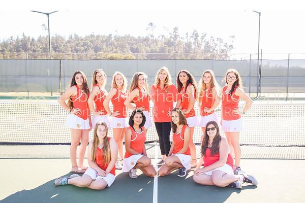 2017 Girl Athletes + Team