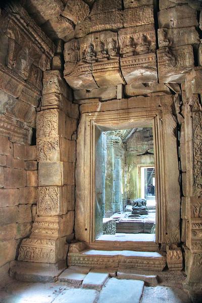 Corridor at Preah Khan