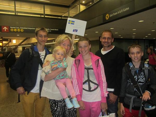 Swedish Families Visit 2013