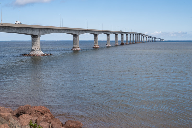 The 12.9 KM Confederation Bridge