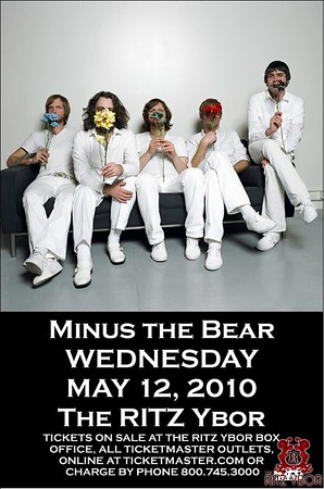 Minus The Bear May 12, 2010