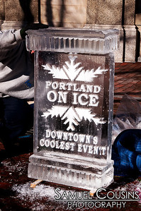 Portland On Ice 2012 - Ice Sculptures
