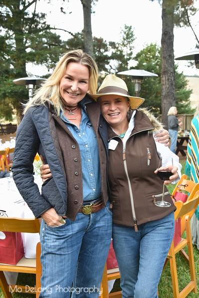 Kathy Kamei and Hillary Jones