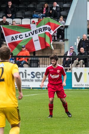 City of Liverpool FC (h) L 2-0 *