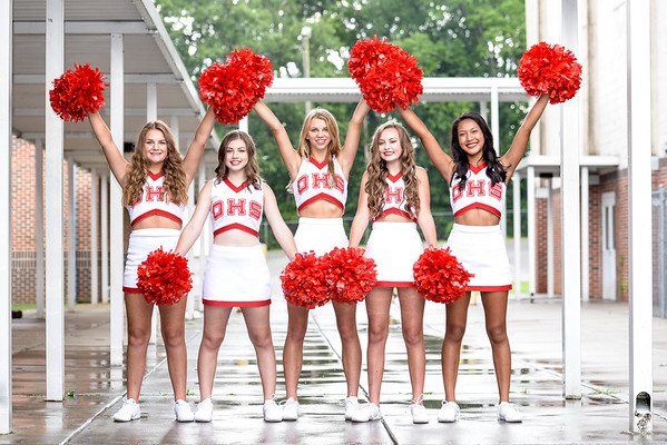 2018-2019 OHS Freshman Cheerleaders