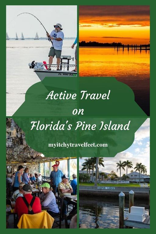 Active travel on Pine Island, Florida.