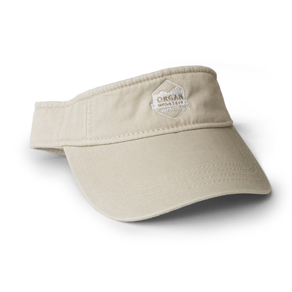 Organ Mountain Outfitters - Outdoor Apparel - Hat - Classic Visor - Khaki.jpg