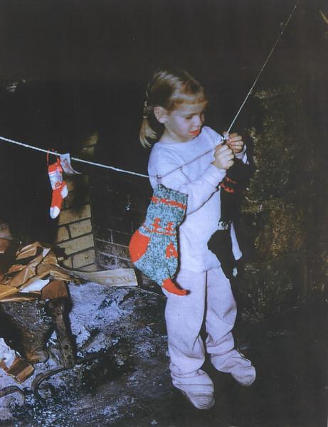 1959 hanging Stockings at the Loj