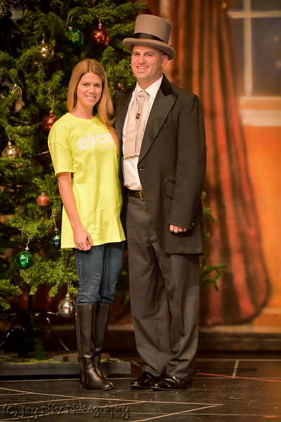 December 12, 2014 - Eric and Amy Nutcracker Photo