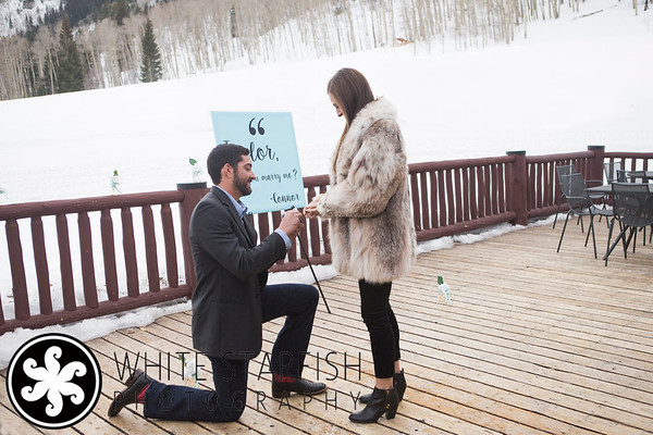 Beaver Creek Wedding Proposal - Connor and Taylor