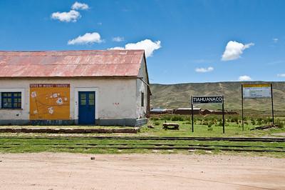 La Paz to Puno via Tiwanaku