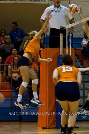 FHSAA 2010 Playoffs Oviedo @ Boone Girls Varsity Volleyball - 2010