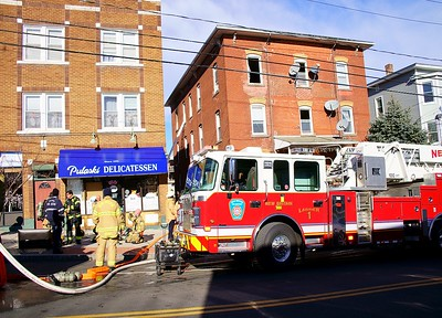 Building Fire - 205 Broad St. New Britain, CT. 1/8/21