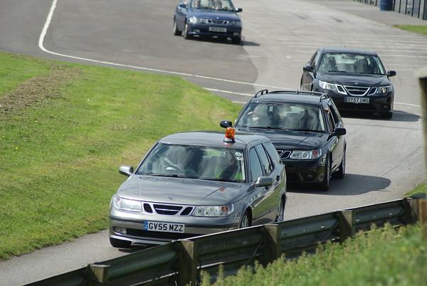 Saab Track Parade Castle Combe
