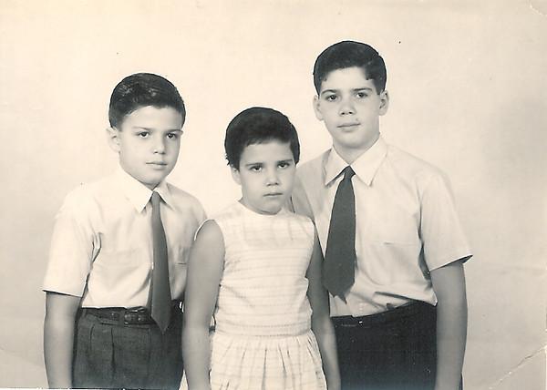 Ricardo, Luísa e Luís Aragão e Brito