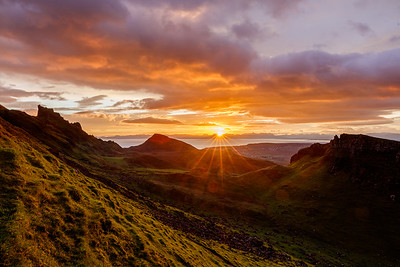Sunrise in the Quiraing