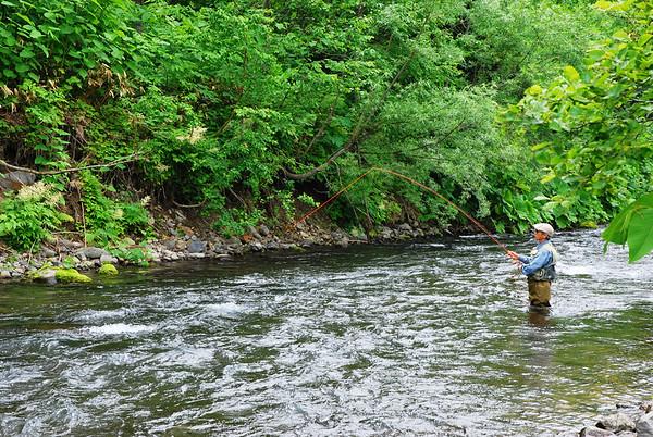 FISHING IN HOKKAIDO JULY 2014