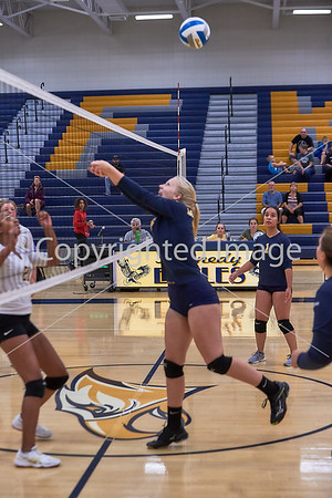 2019-09-24 JFK Volleyball 9th vs Hasting Raiders