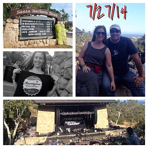 2014 0727 Santa Barbara Wine Tasting and Foreigner Styx Concert