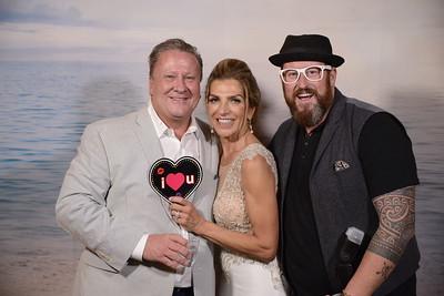 Debbie and Tim PhotoWALL FUN!!!