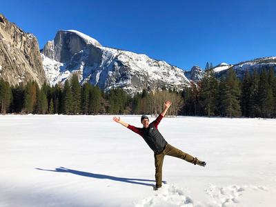 Yosemite Winter Trek: Feb 22-24, 2019